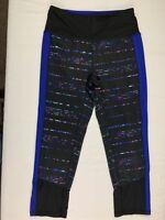 RBX Yoga Workout Pants Leggings Capri Womens Size Small Black