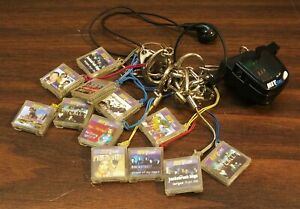 HIT CLIPS PERSONAL AUDIO PLAYER Tiger Electronics 12 cartridges WORKS pop music