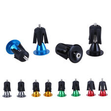 Lightweight Aluminum Bicycle Handle Bar Cap End Plugs For Bicycle Bike Cycling