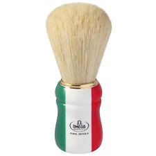 Omega Pro Shave Brush Italian Flag, 21762 Pro Boar