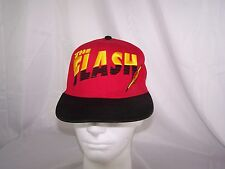 Youth Six Flags The Flash DC Comics Adjustable Snapback Cap Hat