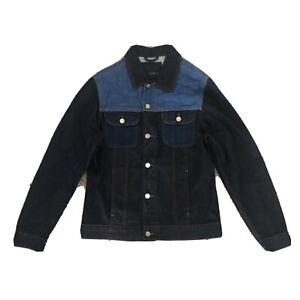 Zara Two Tone Mens Denim Jacket