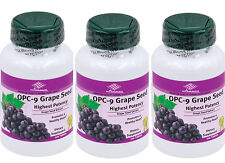 3bottles OPC Grape Seed Extract red wine bilberry extract (100 Tablets/ 100 MG)