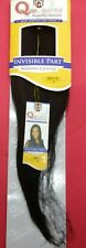 """QUE BY MILKYWAY HUMAN HAIR MIX INVISIBLE PART LACE WEAVING CLOSURE 12""""COLOR #2"""
