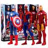 Marvel Captain America Spider-Man Iron Man Thor PVC Action Figure Model Toy