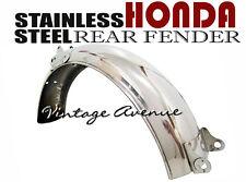 HONDA CS50 S50 SS50 CL50 CL70 REAR FENDER *STAINLESS STEEL* [V]