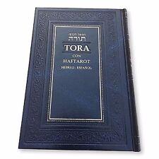 Española Pentateuco Torah Libro Spanish & Hebrew Oración Judío