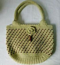 Beaded Crochet handbag summer festival beach