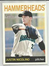 Justin Nicolino Miami Marlins 2013 Topps Heritage Minor League
