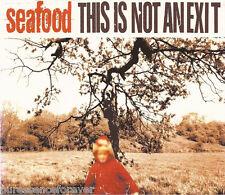 SEAFOOD - This Is Not An Exit (UK Fierce Panda 3 Tk CD Single)