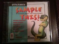 Sample this Game Demo CD Disk for Panasonic 3DO NEW FACTORY SEALED