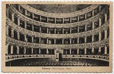 cartolina FABRIANO teatro gentile-palchi