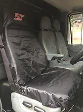 ST Van PREMIUM Seat Cover Protector / FORD TRANSIT MK7 / 100% WATERPROOF - BLACK