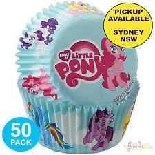 MY LITTLE PONY PARTY SUPPLIES 50 WILTON CUPCAKE BAKING CUPS CAKE PATTY PANS