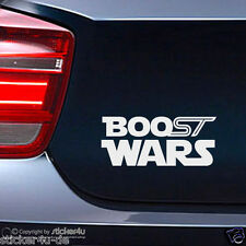 (1470) Fun Sticker Aufkleber / Boost Wars Ford Fiesta Focus ST Turbo Star Wars