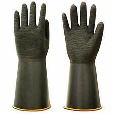 Heavy Duty Rubber Gloves Versatile Latex Chemical Resistant Gloves 14 1 Pair