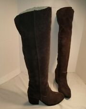 d4f876e056f7 NEW JEFFREY CAMPBELL BROWN OAKMONT OVER THE KNEE SUEDE BOOTS US 6.5