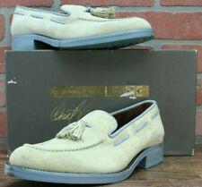 Donald J. Pliner Mens Exist Sport Suede Tassel Leather Loafers Shoes Size 8.5 M