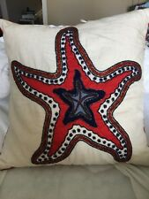 Coastal Star decorative pillow covers 20x20