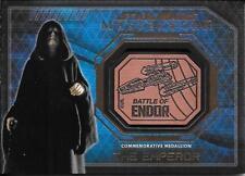 2016 Star Wars Masterworks Medallion Bronze The Emperor Battle Of Endor