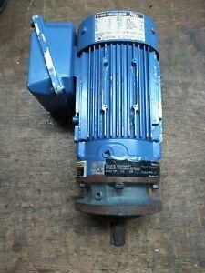 Sumitomo 1/2 HP 230/460 VAC Electric Gearmotor Ratio 8:1 219 RPM Tested