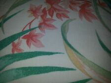 Laura Ashley Oblong Table cloth Tropical Teal Orange