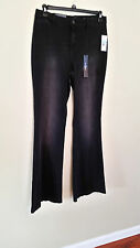 "Size waist 32"" X 35"" Length  'Besos' Women's Black Jeans"