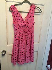 Modcloth Adorable Soft Poodle Dress Euc Med But Runs Small