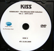 CD / DVD / KISS / KISSOLOGY / VOL.1 1974-1977 / RARITÄT / PROMO /
