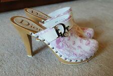 100% authentic Dior clogs mules shoes  sz 40.5 /10.5 US