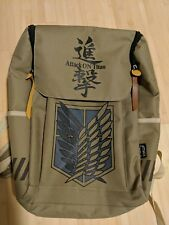 31d3428d14 Attack On Titan Backpack Canvas Material Bought From Rightstufanime
