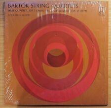 """Bartok: First Quartet Op. 7 & Second Quartet Op. 17 12"""" LP, Dover 97272-0 EX"""