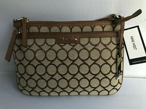 New Nine West Brown Multi Crossbody Bag New NWT  Perfect Everyday Bag!