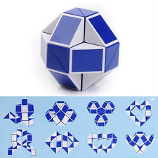 Child Kid Magic Snake Shape Toy Game 3D Cube Puzzle Twist Puzzle Toy Gift Hot