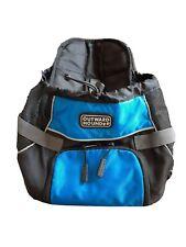 OUTWARD HOUND Hands Free Dog Carrier Front Backpack Pet Dog Traveler 8 Lbs Blue