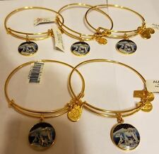 CLEARANCE SALE!! Alex and Ani Polar Bear Charm Bangle - Shiny Yellow Gold