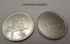 Pièce N°24 CHOIXPEAU MAGIQUE neuve/ coin jeton pour album Harry Potter GRINGOTTS