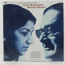 Lata Mangeshkar & Hemant Kumar Duets Rare LP Vinyl Record Hindi Bollywood Indian