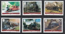 Isle of Man 2004. The Power of Steam SG 1125/30 MNH