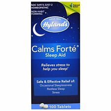 Hylands Calms Forte Homeopathic Sleep Aid 100 Tablets
