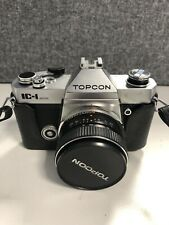 Topcon IC-1 auto 35mm film camera with Hi TOPCOR 50mm f2.8 lens (Our ref Photo10