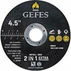 5 Pack Cut Off Wheels 4 1/2 x 1/24 x 7/8 for Cutting Metal and Stainless Steel