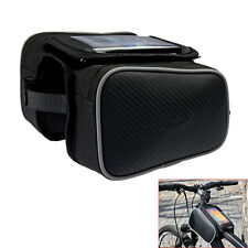 "Bicycle Bike Cycling Frame Pannier Front Tube Pouch Bag 5.5"" for iPhone 6S 6Plus"