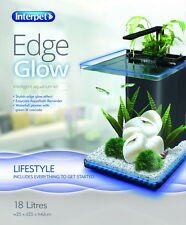 Interpet Edge Glow Aquarium 18 Litre Fish Tank