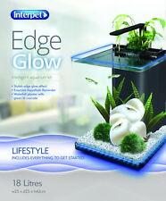 Interpet edge glow aquarium 18 litres fish tank