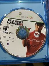 Tiger Woods PGA Tour 06 Microsoft Xbox 360 Video Game Disc Only