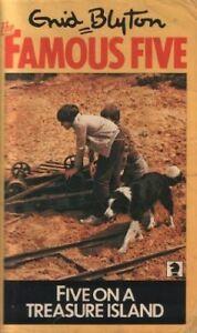 Five on a Treasure Island (Knight Books) By Enid Blyton. 9780340024232