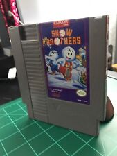 Snow Brothers (Nintendo NES) Cart Only Tested Authentic FREE SHIPPING