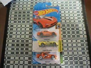 Hot Wheels Mazda x 3