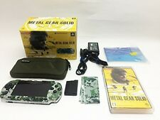 SONY PSP Console METAL GEAR SOLID PEACE WALKER KONAMI STYLE Limited Edition F/S
